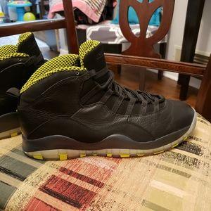 Jordan 10 venom size 12